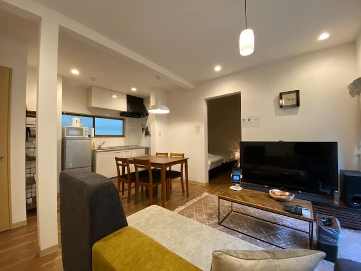 A newly modern house★Near Tokyo Tower/MAX5PPL/WIFI