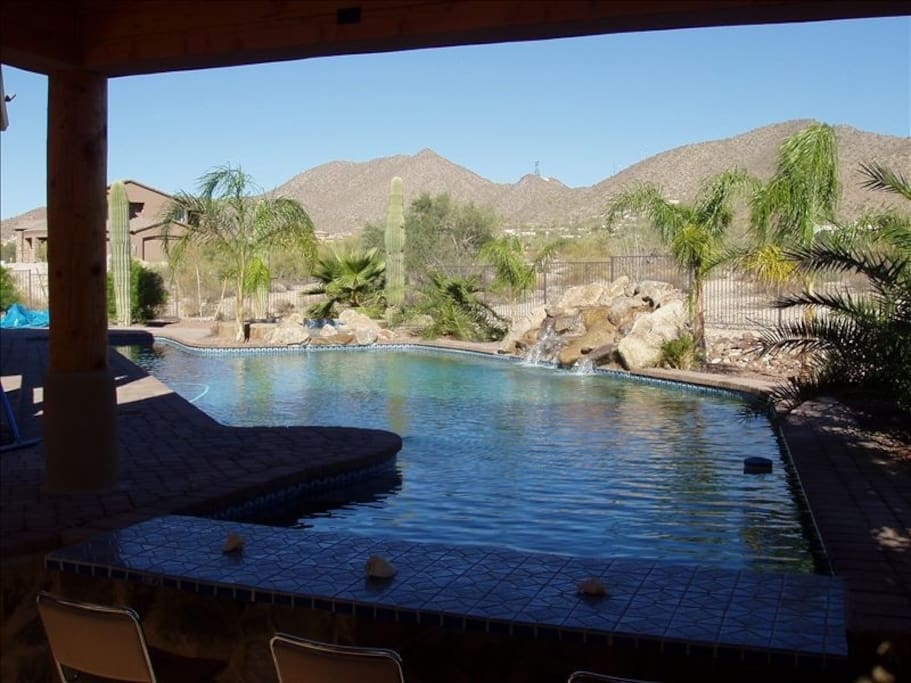 Oasis in the desert houses for rent in mesa arizona for Indoor swimming pools in mesa az