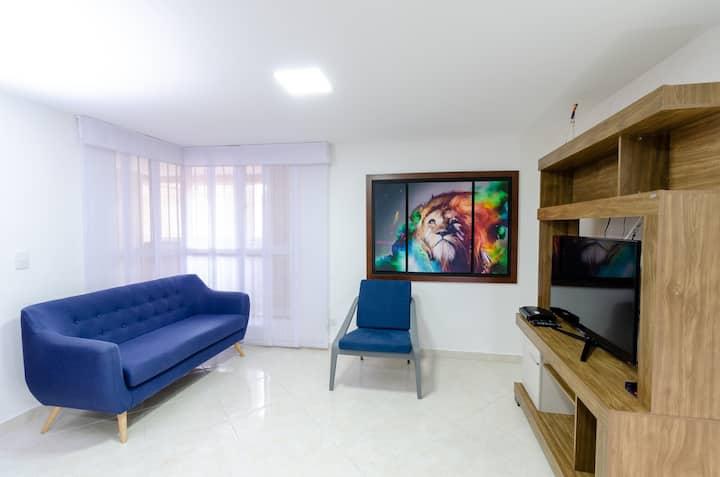 Apartamento acogedor y muy cómodo!