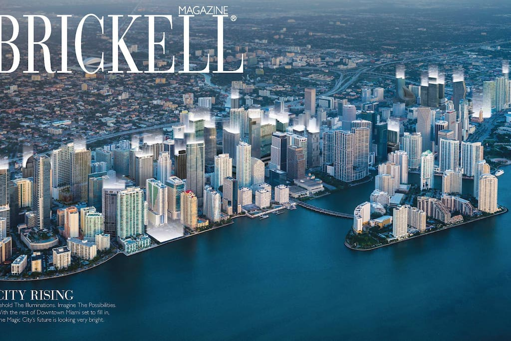 Brickell From The Air