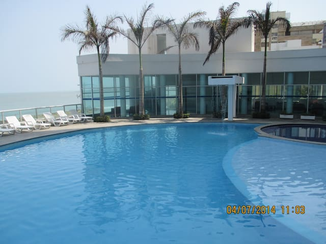 Luxury  Cartagena  Sea Shore Apt 36 - Cartagena De Indias (Distrito Turístico Y Cultural) - Apartment