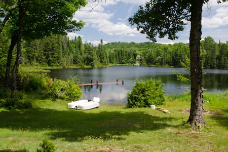 Ty-Llyn - Lakeside cosy chalet - Sainte-Lucie-des-Laurentides - House