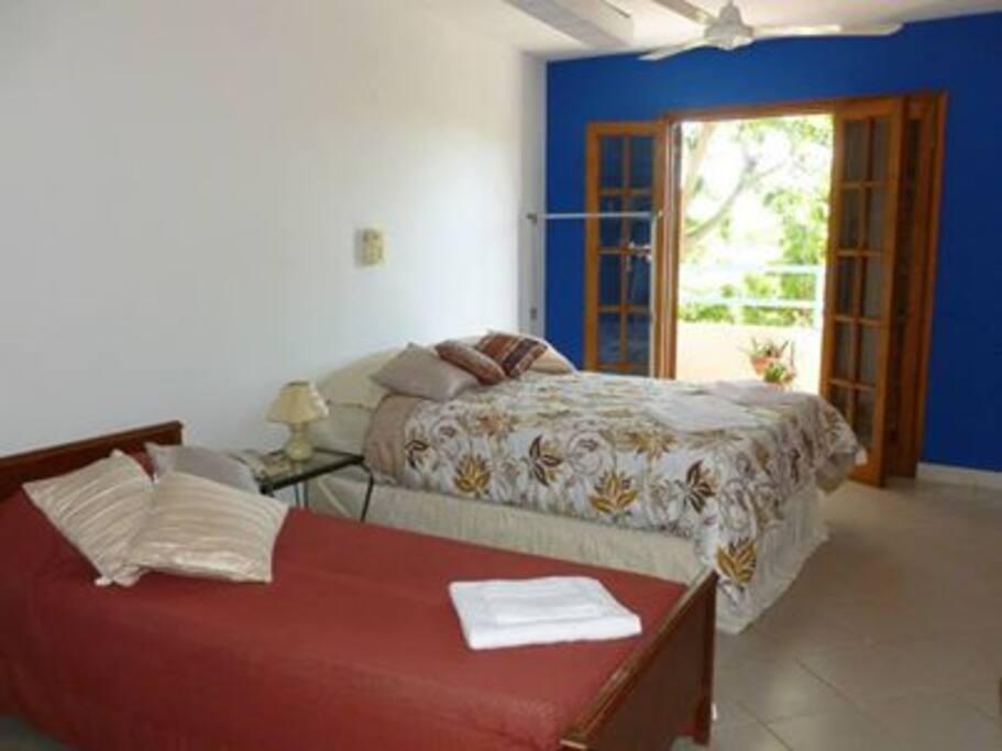 Departamento para 5 personas,  1 cama matrimonial, Habitación principal