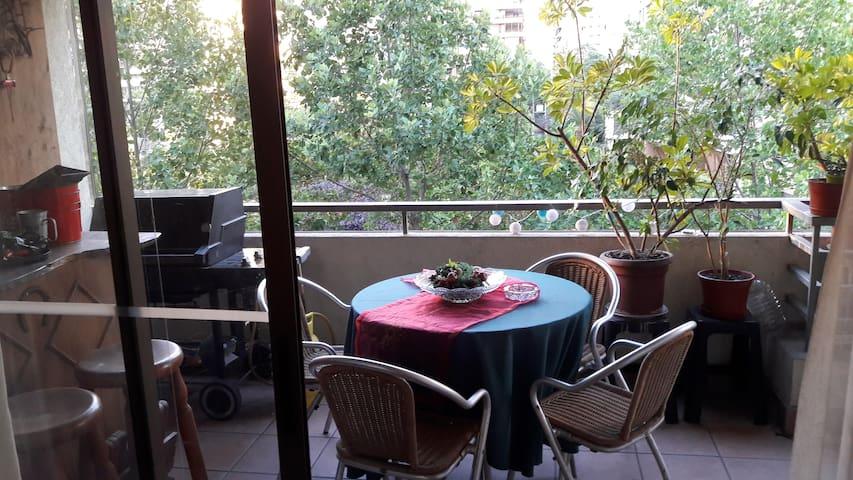 habitacion con baño propio en las Condes - Las Condes - ที่พักพร้อมอาหารเช้า