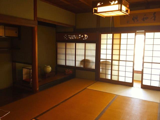 Private Trad. Japanese Room 2-4PPL - Himeji-shi - Huis