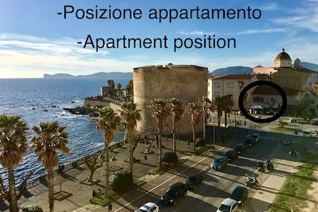 "Apartament in ""Piazza Sulis"" with  terrace"