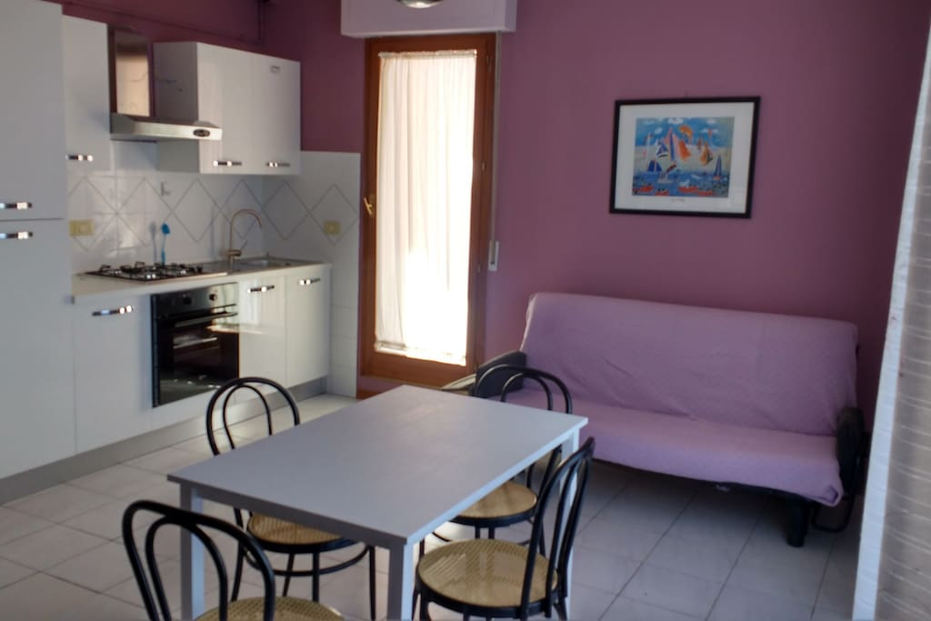 Linving room - Cucina soggiorno