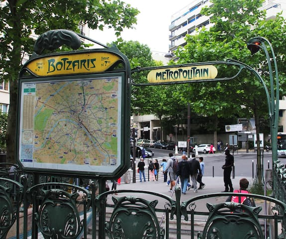 2P / 40m2 in Buttes Chaumont