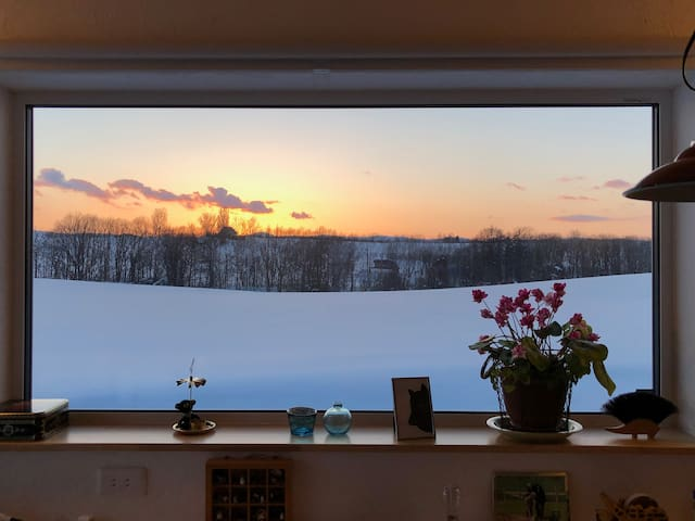 Private 2nd Floor & Land / Stay with host family