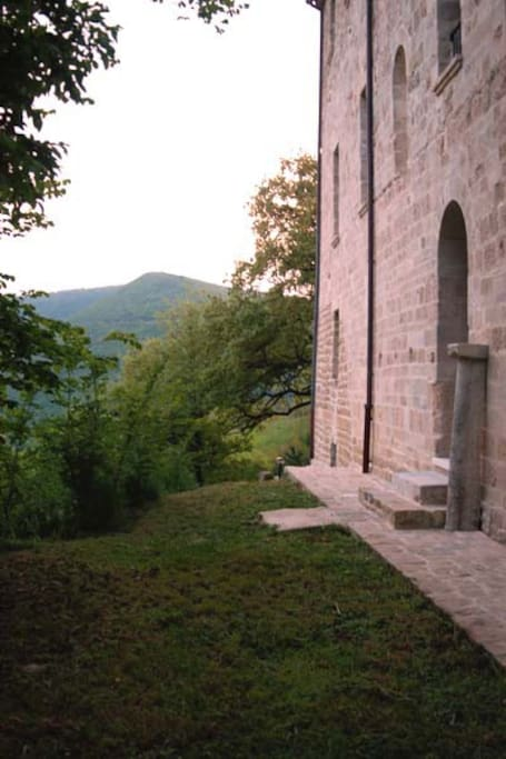 Ingresso posteriore di San Paterniano