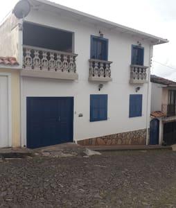 Casa no centro histórico de Ouro Preto.