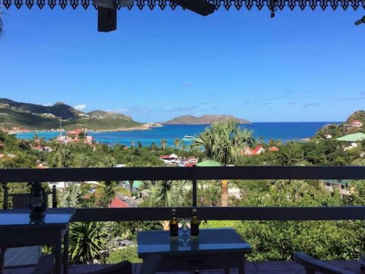 Cocooning studio Vue Mer Caraibes