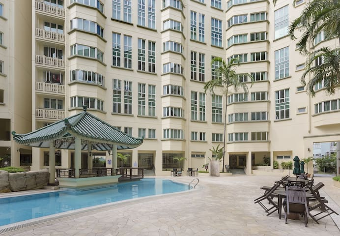 Premium, artsy 3BR 2Bath CBD flat - Singapura - Apartamento