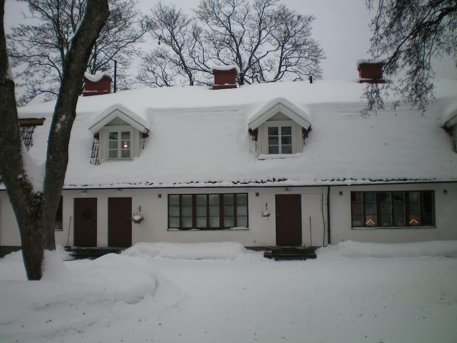 Talo talvella