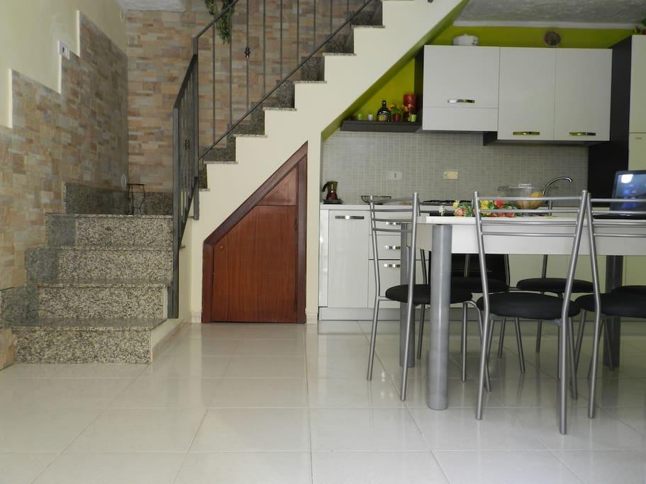 scale per il piano superiore