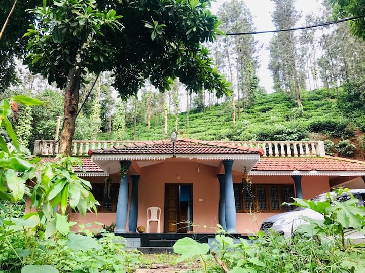 Private Rooms in spacious Wayanad property