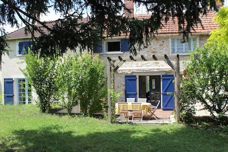 Chambre privée dans cadre champêtre - Janville-sur-Juine - Dům