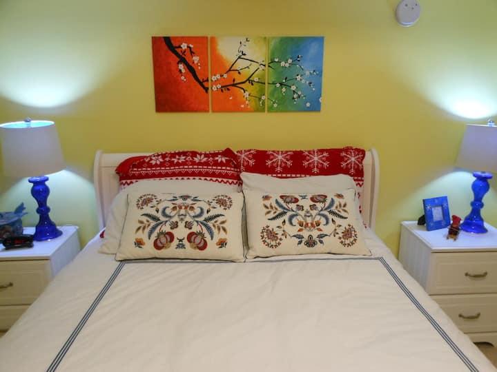 Scandinavian Guestroom in Private Residence
