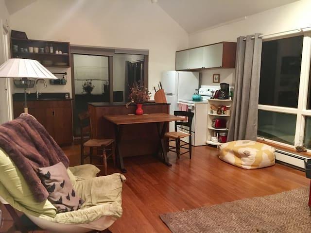 An adorable getaway in the Gunks! - New Paltz - Apartamento