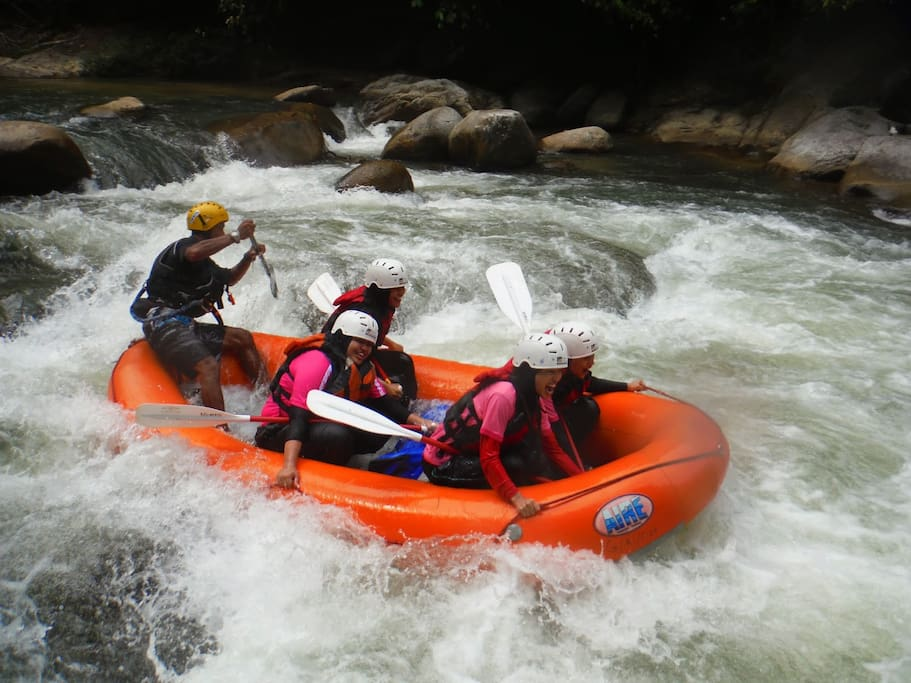 You may try white water rafting. Very enjoyable and fascinating experience.