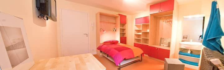 Chambre meublée - Nantes Centre
