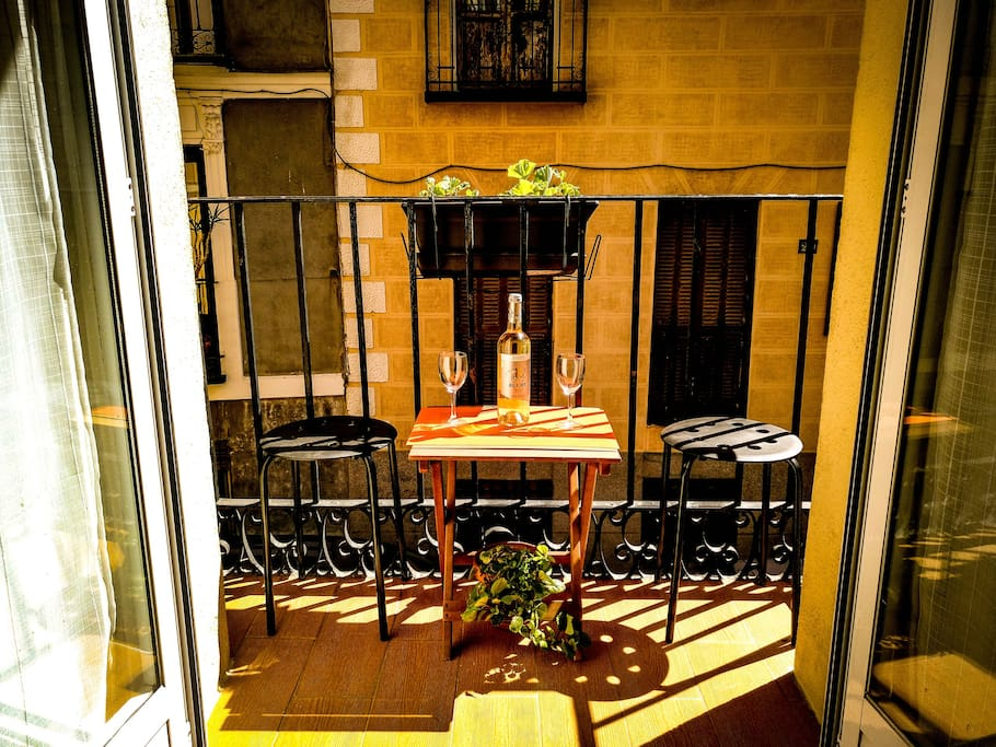 Our cozy terrace