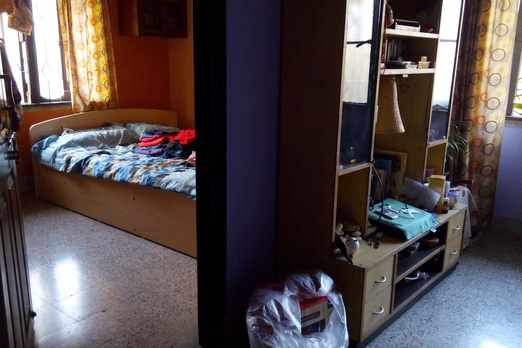 One Room with bed and common room
