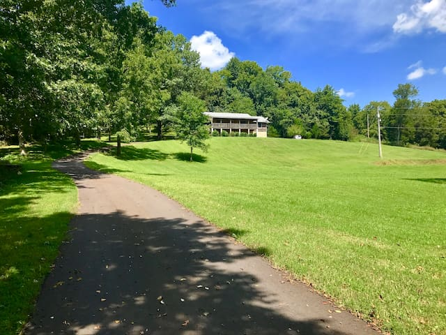 Williamson County Log Cabin on a Serene 5 acres.