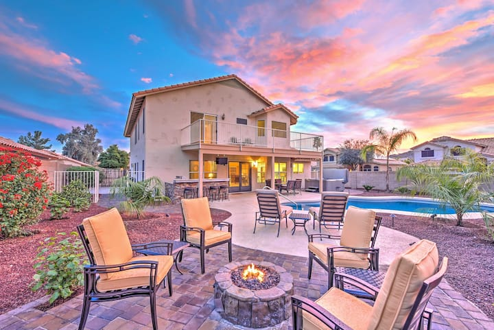 Stunning Goodyear Home w/ Private Hot Tub & Pool!