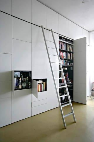 mooie rustige open loft in Amsterdam Oud West