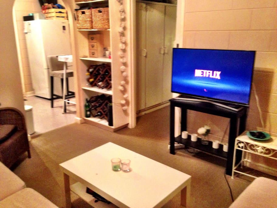 Smart TV with Netflix account