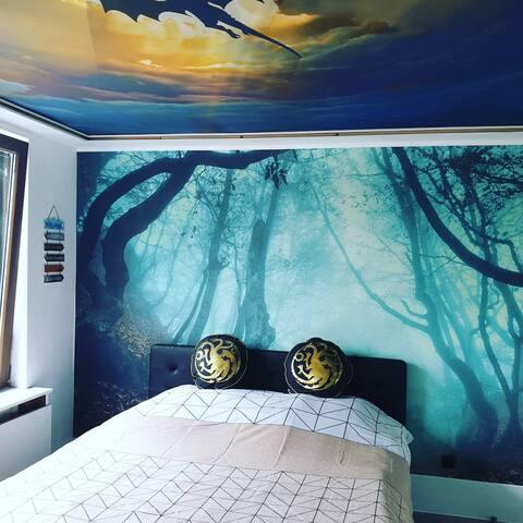 Mystic room with ensuite bathroom