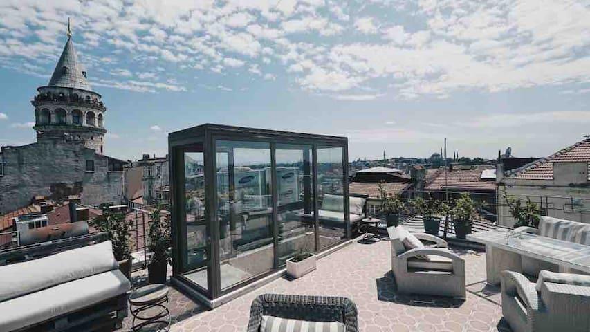 Chic  Apartment, Galata Tower 5
