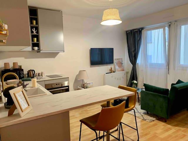 Nice appartment Near Vélodrome and Prado beach