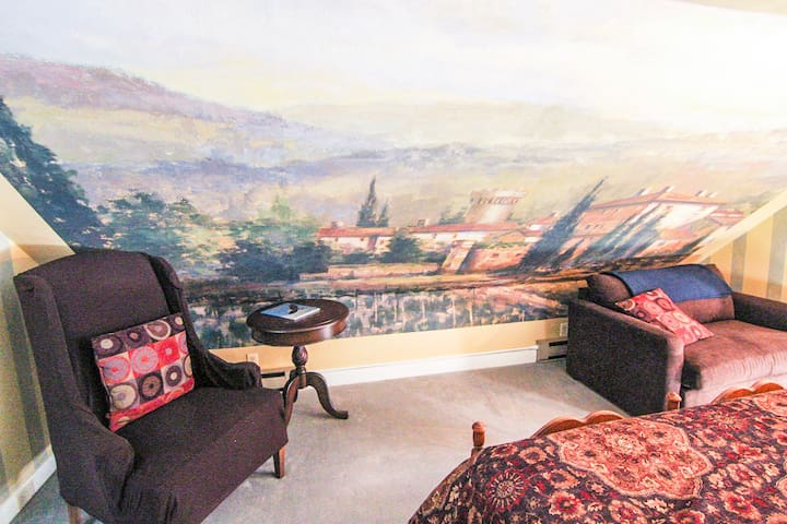 Tuscany Room in the Admiral Peary Inn B & B