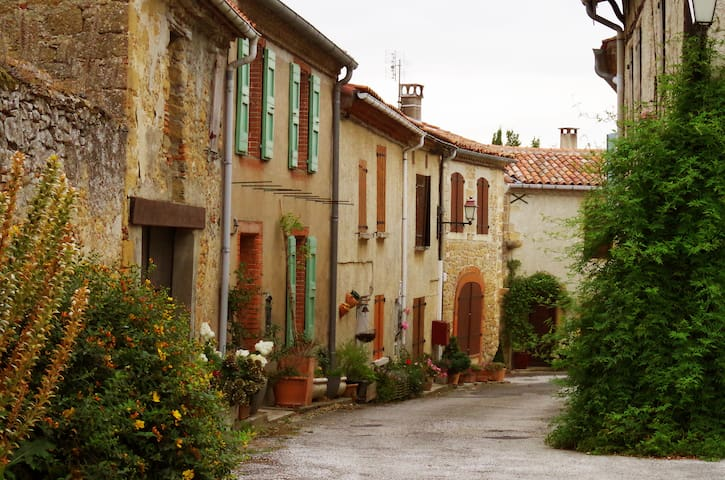 Maison Lauragaise dans un petit village de charme - Vaux - Casa