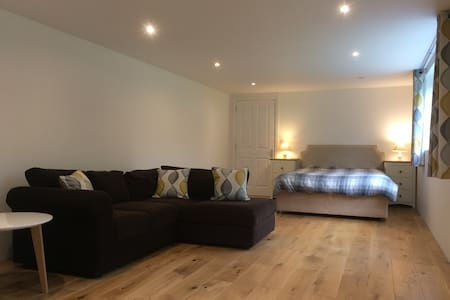 Large self contained double room with shower room
