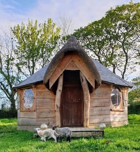 The Wooden Hobbit Yurt