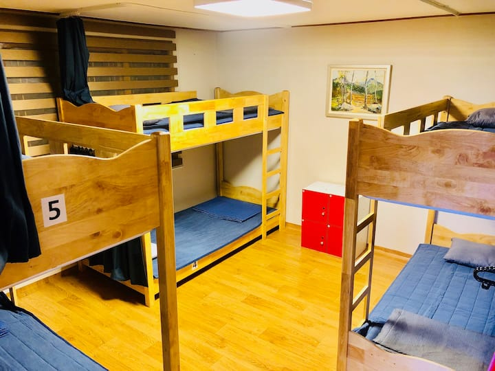 HS, 6 bed mixed dormitory