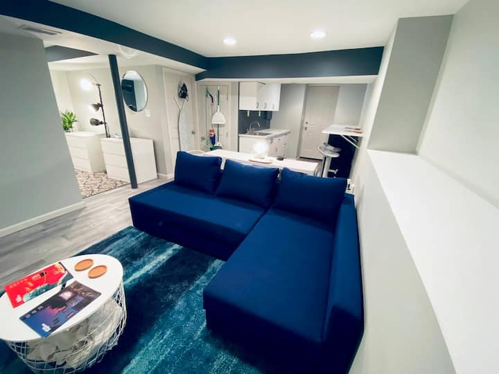 440 sq. ft Private Newly Renovated Guest Suite