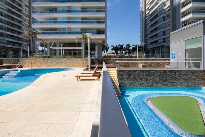 Loft de alta categoría con piscinas