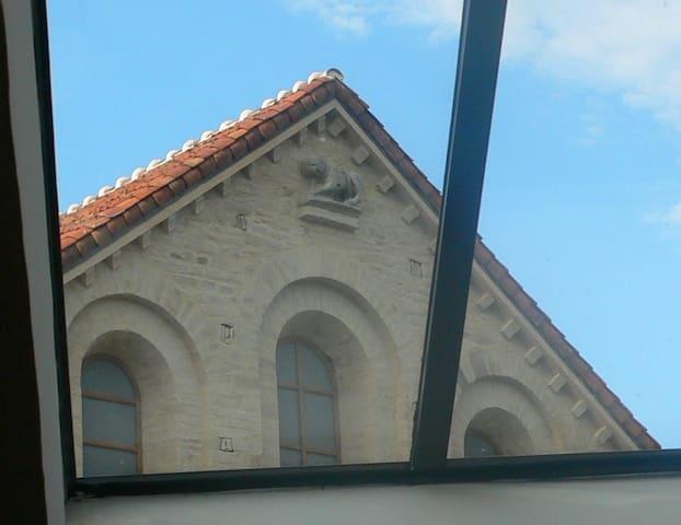 LA MANSARDE DE L'ABBAYE - Cluny - Apartamento