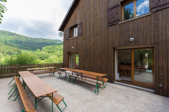 Cottage L'Envers de La Hutte **** (26 pers.)