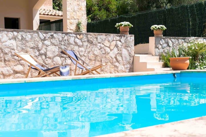 Double, pool&garden patio&view Lluis - Valldemossa - Villa