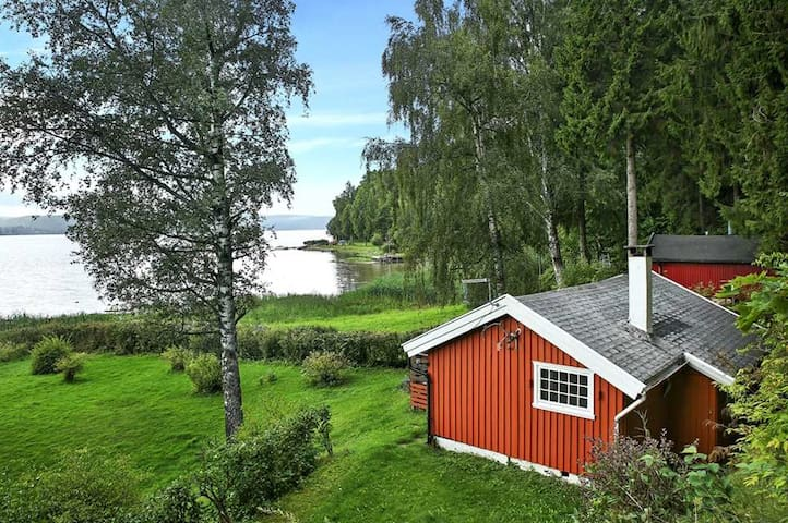 Beautiful cabin one hour from Oslo! - Trøgstad - Cabin