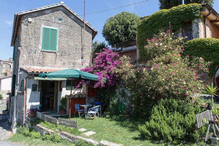 House with garden near the centre - Bracciano - Huoneisto