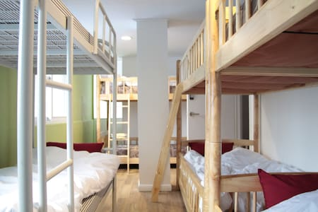 6 Beds mix Dorm & 8 Beds women Dorm - Seoul - Bed & Breakfast