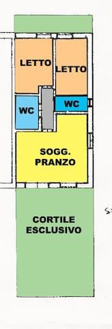 Posizione unica, appartamento sul mare - Stintino - Departamento