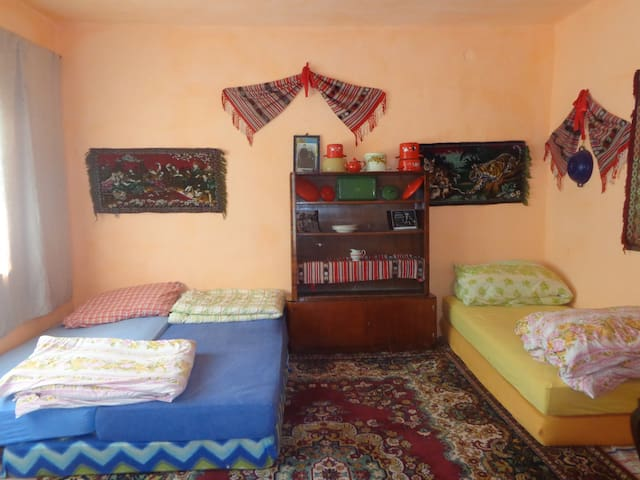 GYPSY HOUSE HOSTEL (includes meals) - valeni - Bed & Breakfast
