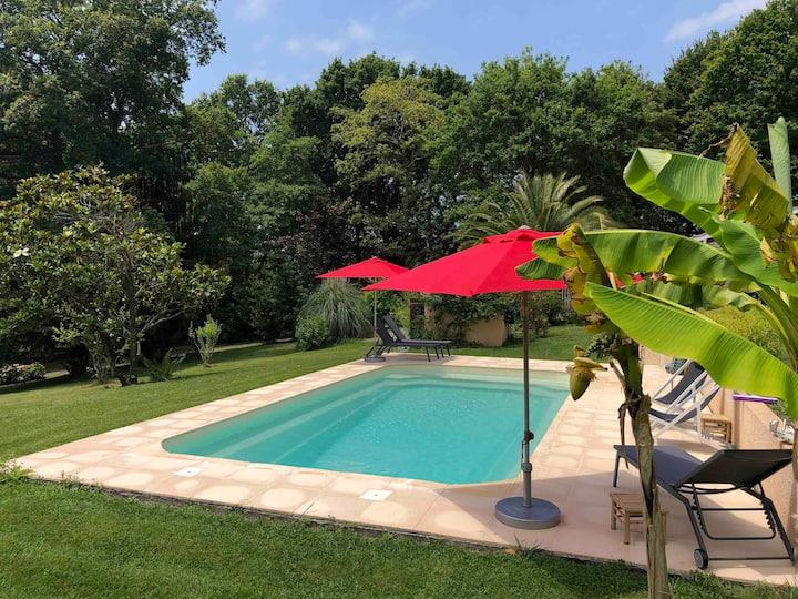Villa Saint Martin, Gîte Calme et Nature